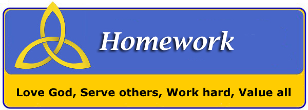 Homework Notice Header