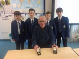 Medals on show for students