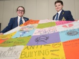 Anti-bullying quilt