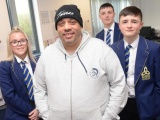 Darryl inspires pupils to make right decisions