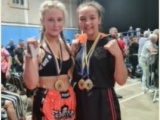 Oliwia and Maisie are Euro champs! Sept 2021